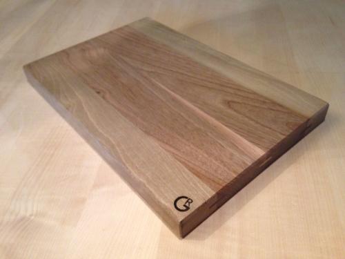 Custom made eikenhouten snijplank